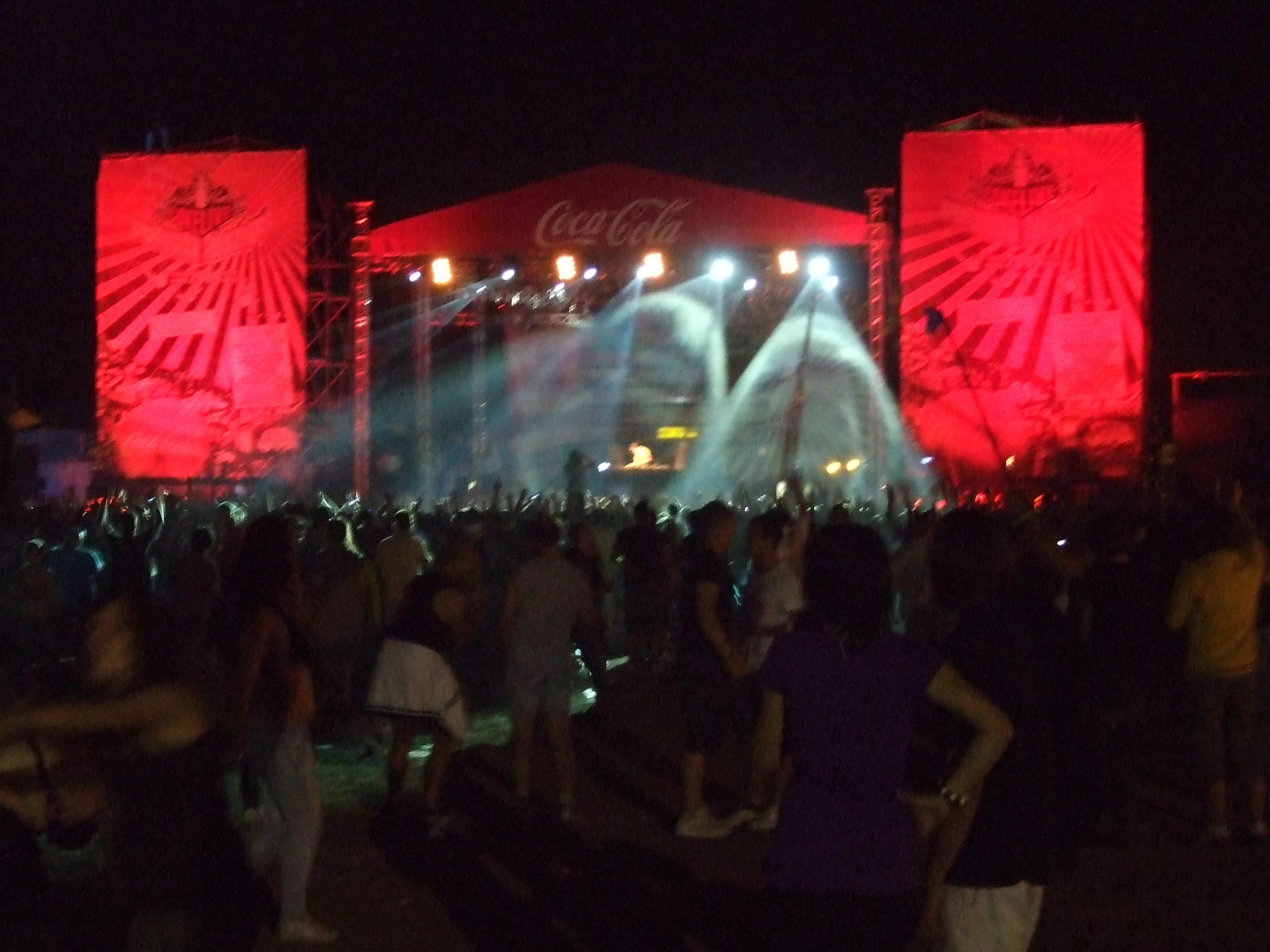 Tiesto - Coke Live Peninsula - ziua 1