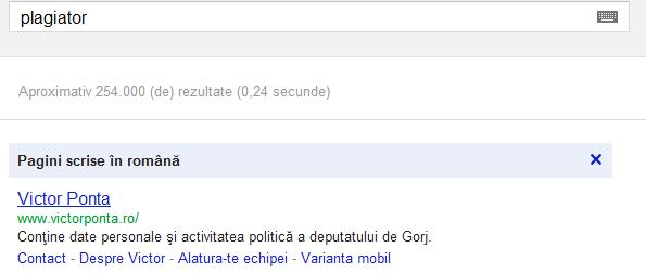 Google bomb Ponta