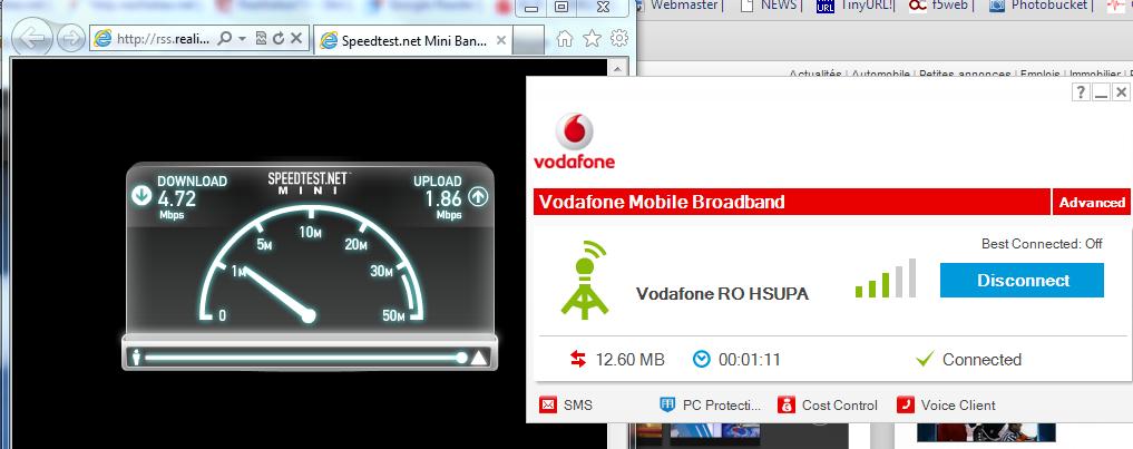 Vodafone a lansat reteaua 4G