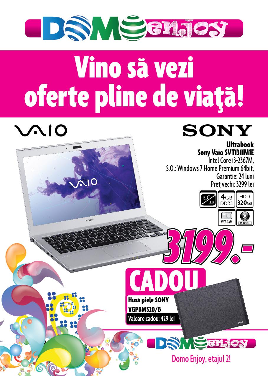 Oferta Domo Enjoy Sony Vaio svt1311m1e