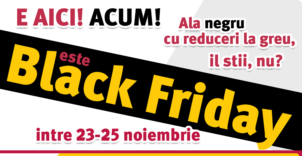 Reducerile de Black Friday continua