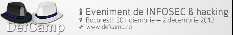 DefCamp la Bucuresti