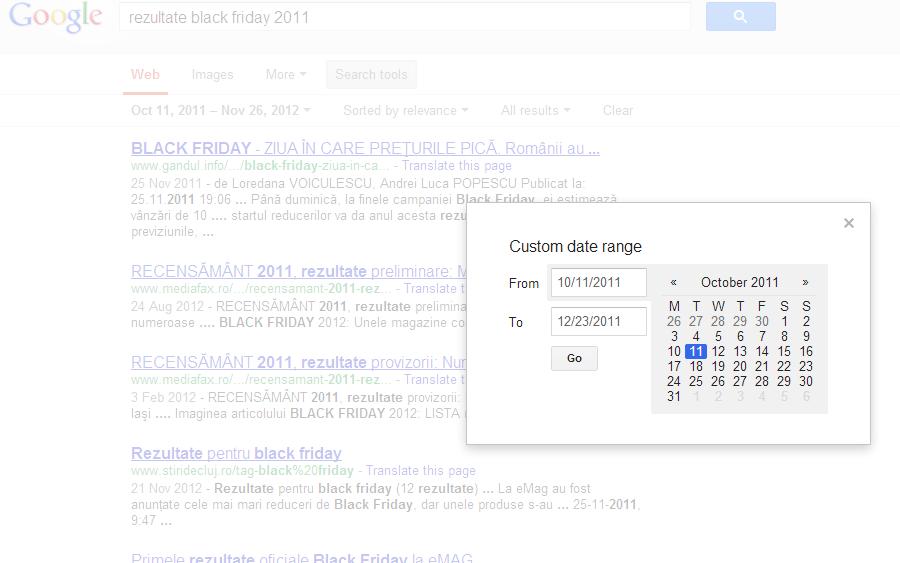 google irelevant