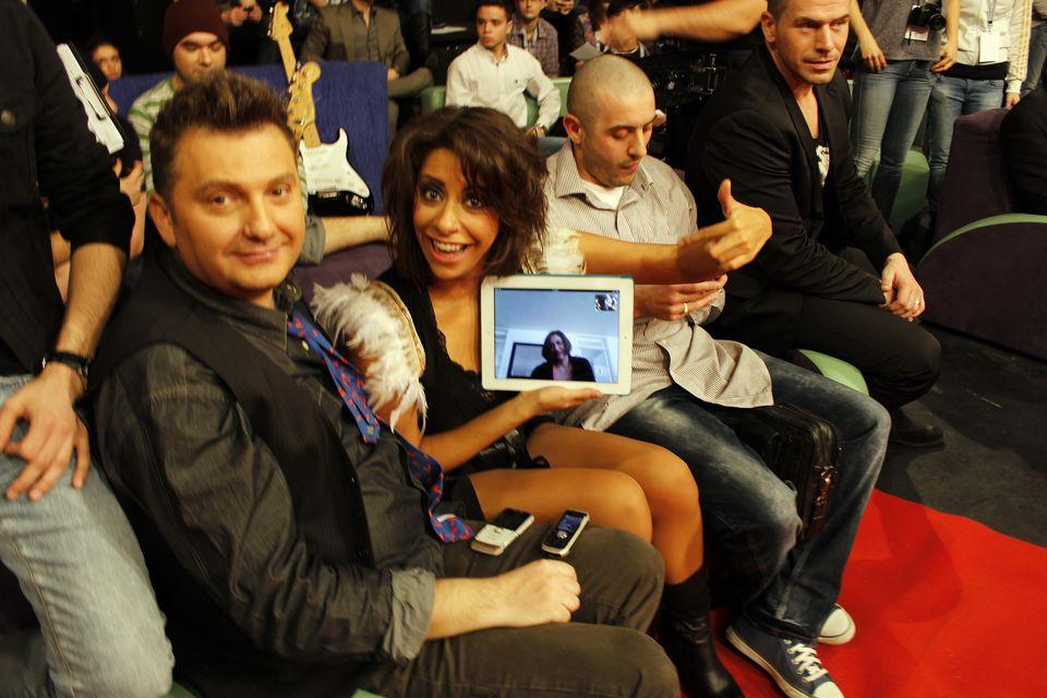 Atmosfera pozitiva de la Eurovision