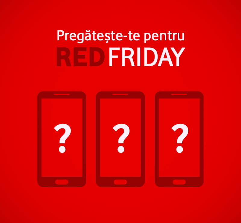 RED Friday de la Vodafone