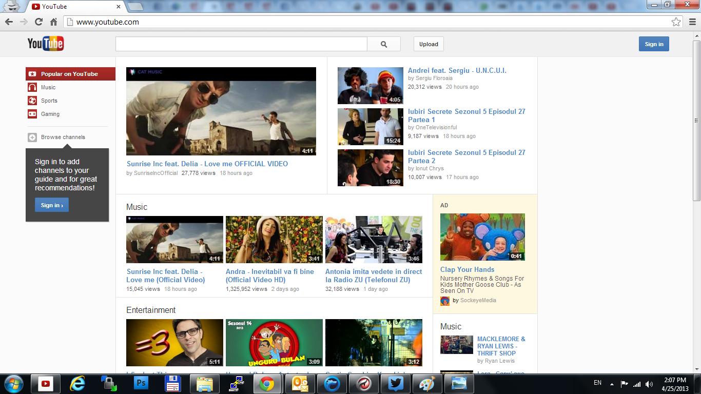 YouTube lansează versiunea locală pentru România