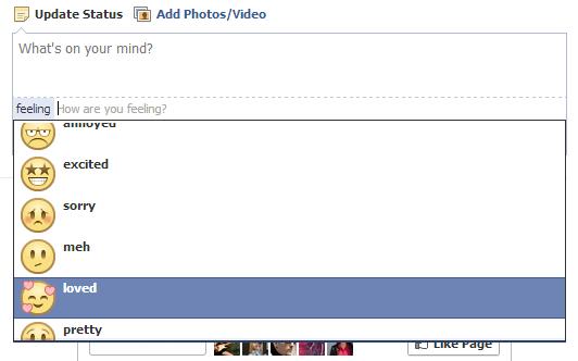 Inca o versiune de Facebook, emoticoane