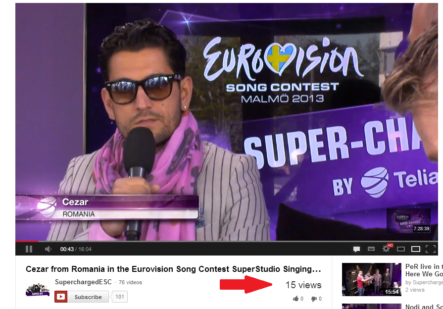 Romania are sanse mari la Eurovision