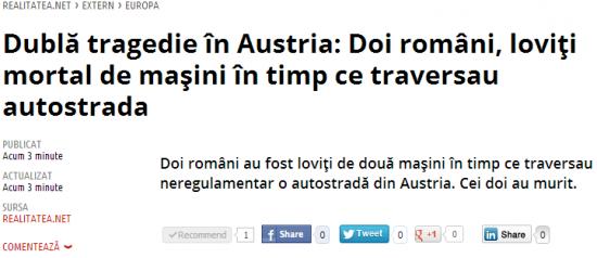 romani austria