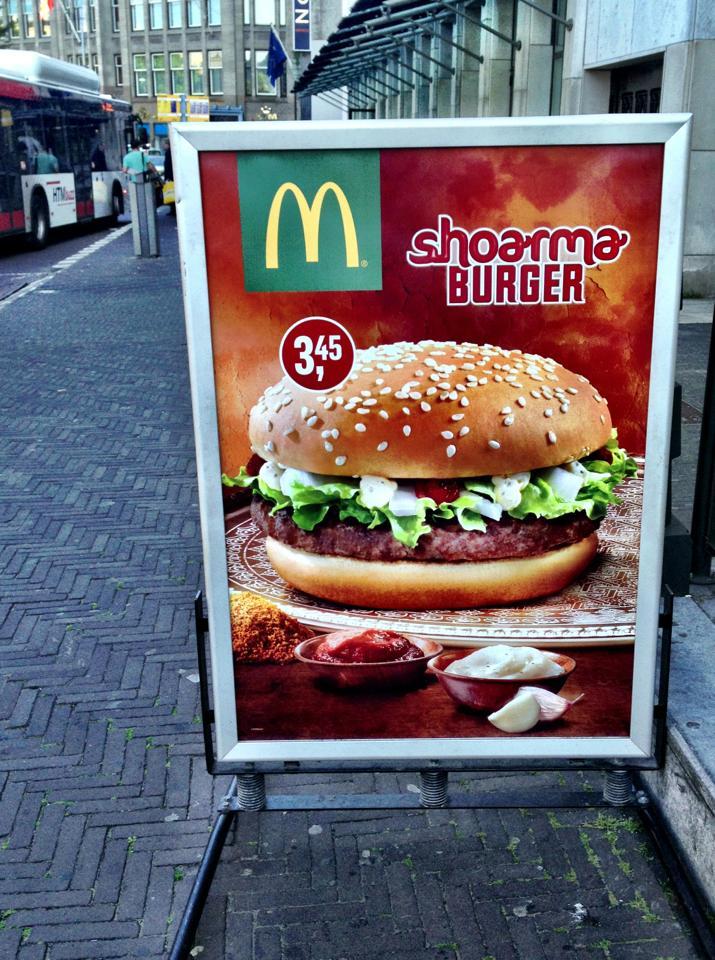 McDonald's reinventeaza shaorma