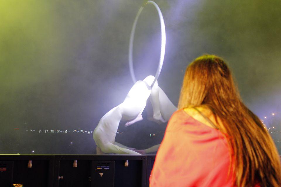 EXCLUSIV: Cum a  mixat Vika Jigulina la Liberty Parade 2013