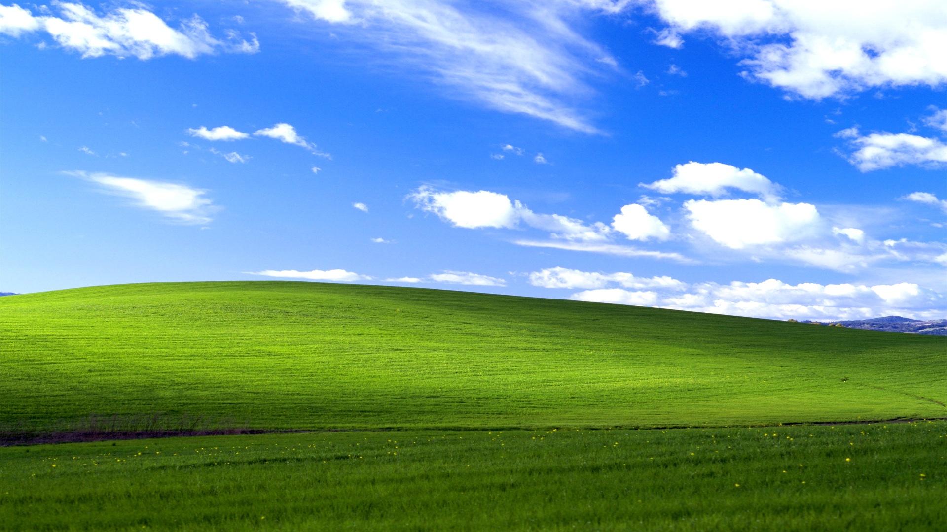 De unde vine wallpaperul de pe Windows XP