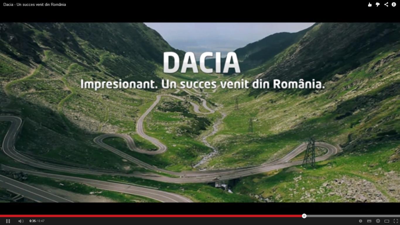 Cea mai tare reclama de la Dacia