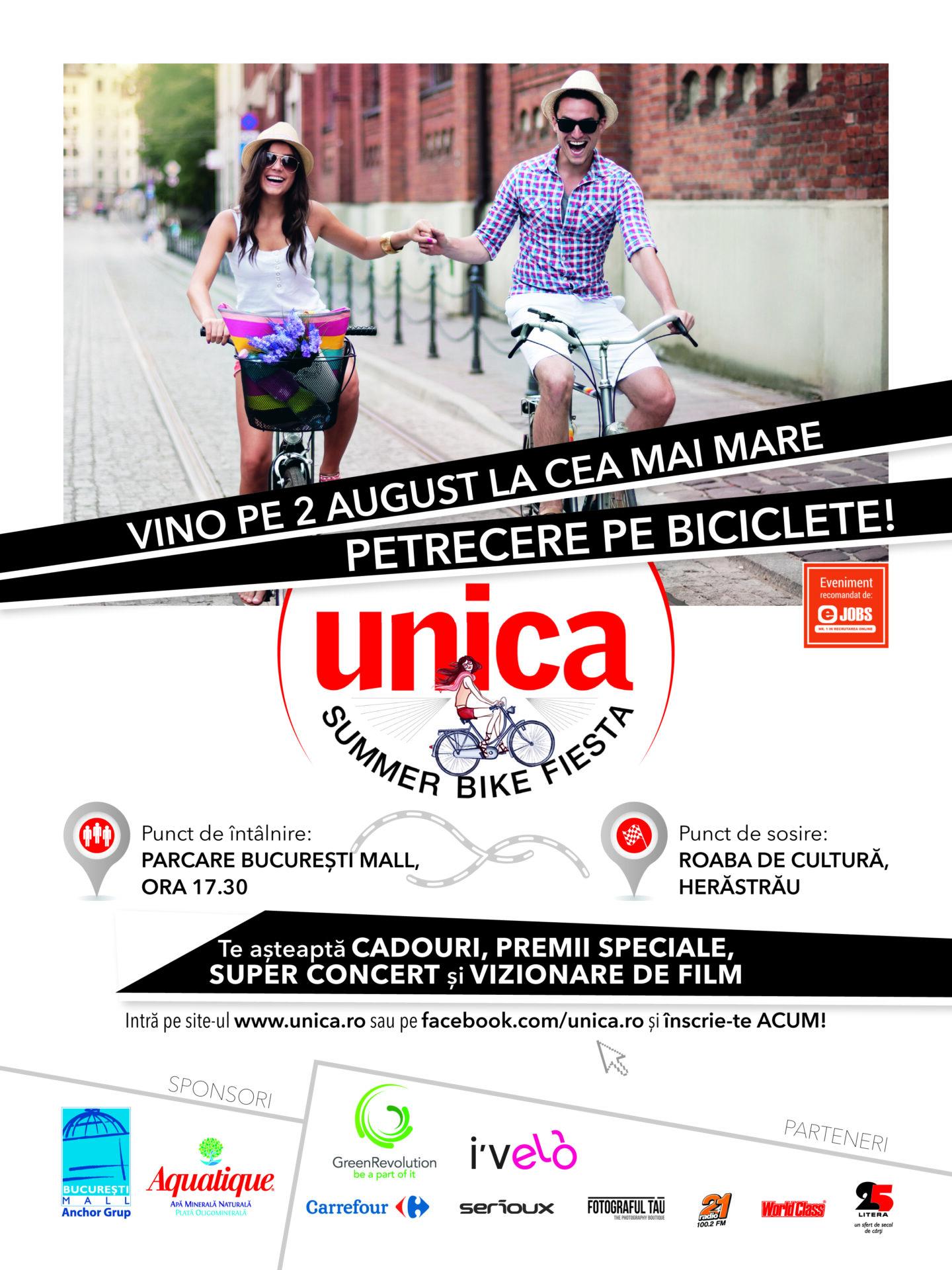 Summer Bike Fiesta, cea mai mare petrecere pe biciclete din Romania, ia startul si anul acesta, pe 2 august