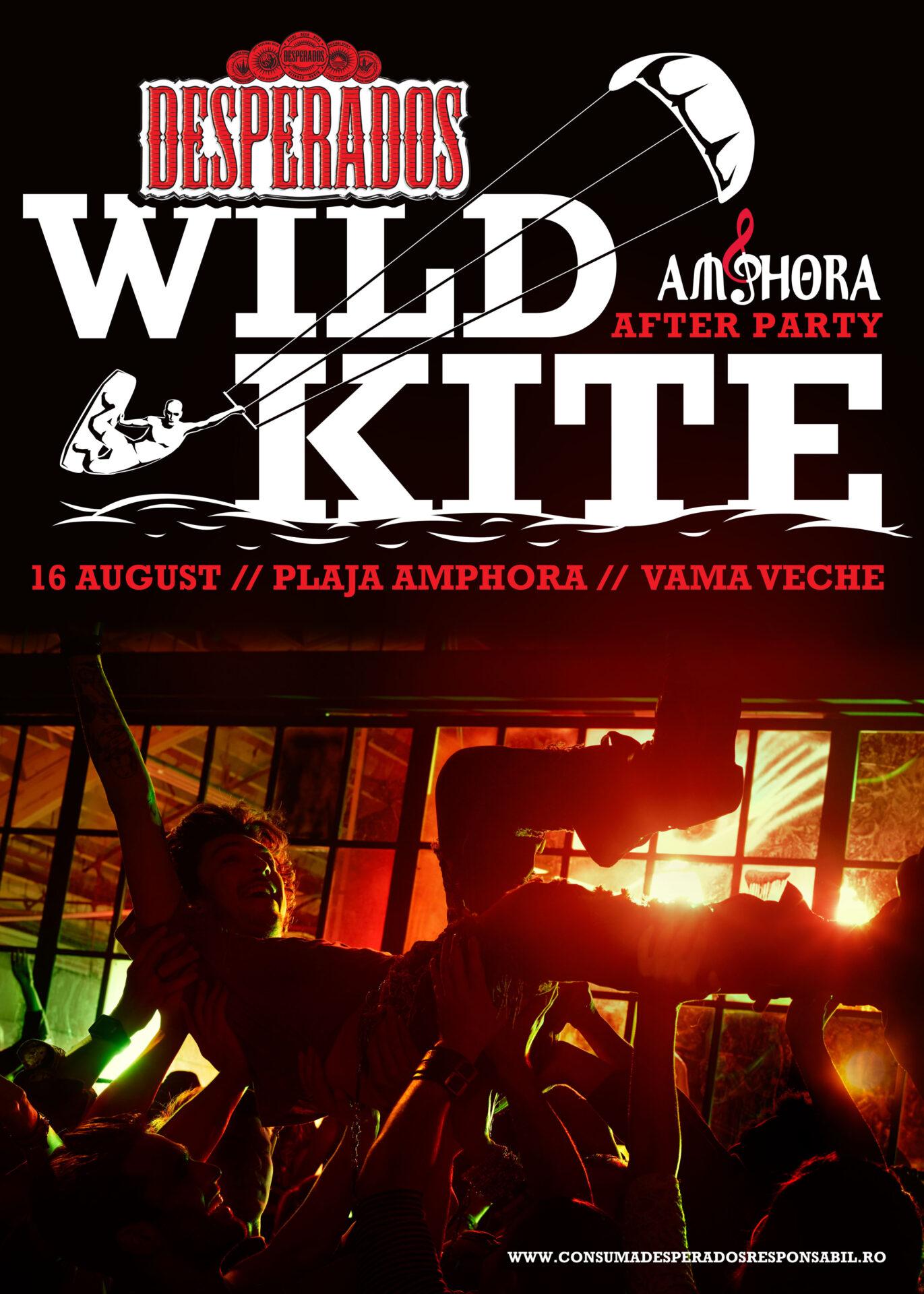 Desperados Wild Kite la Vama Veche