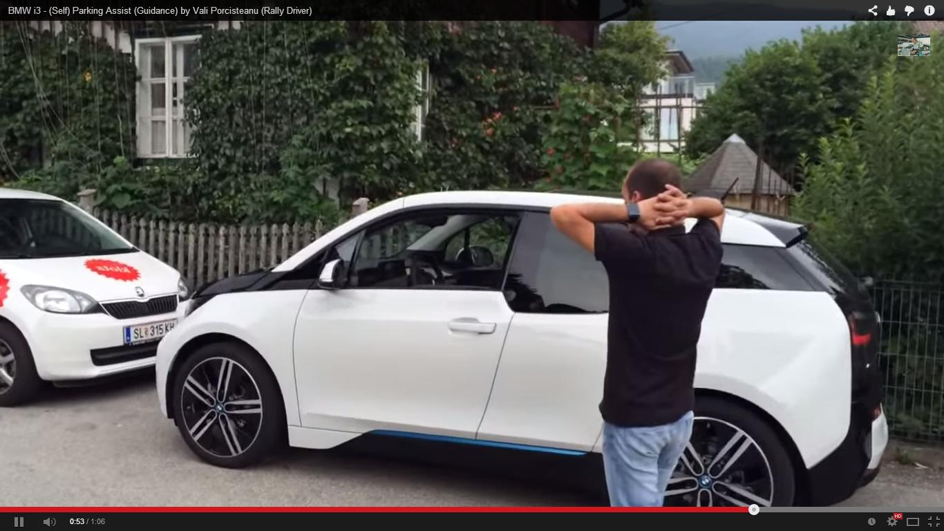 BMW i3 cu parking assist