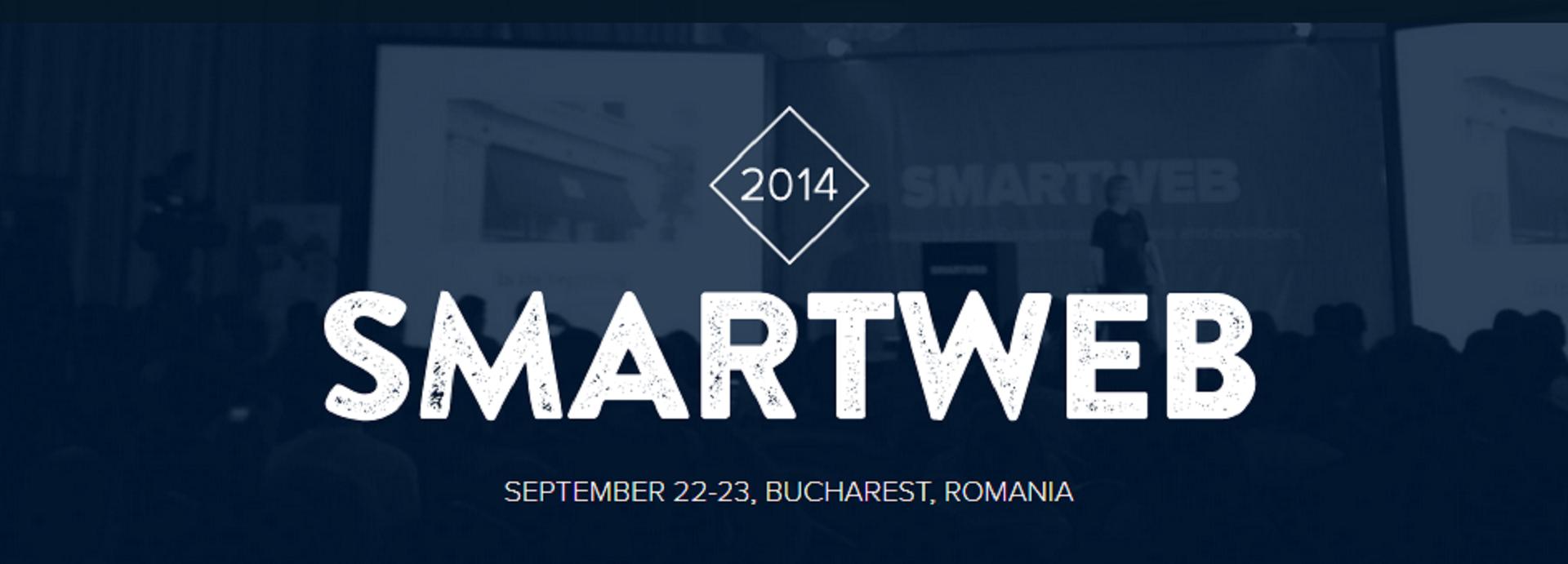 SmartWeb, prima conferinta internationala de webdesign, la Bucuresti