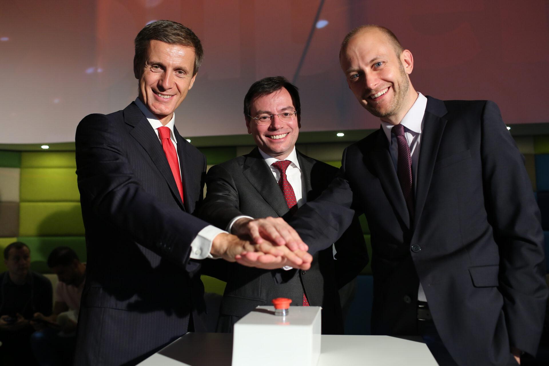 Andrea Rossini, Giovanni Charelli, Markus Lause