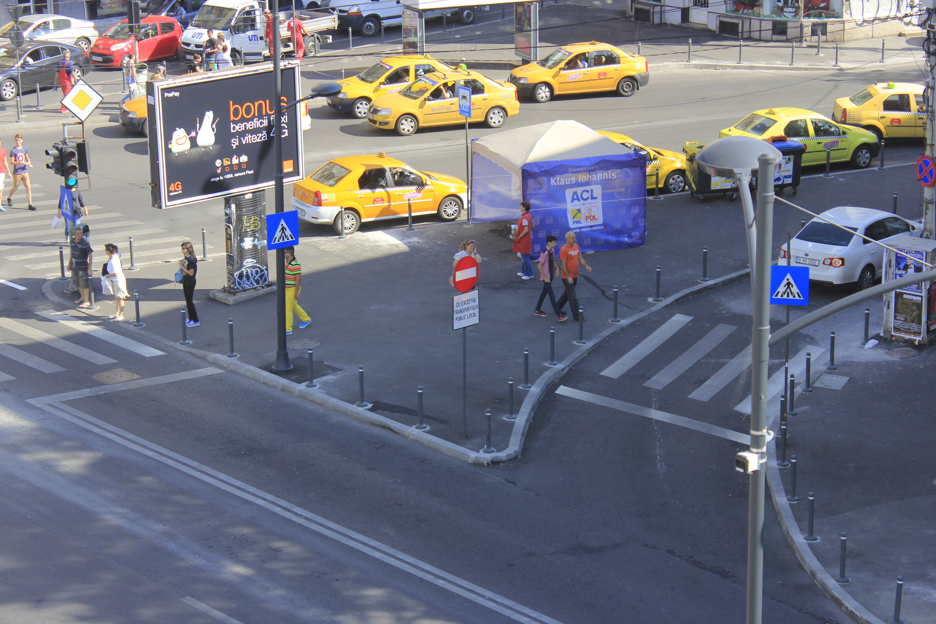 Sensuri unice pe Calea Dorobanti si Strada Polona