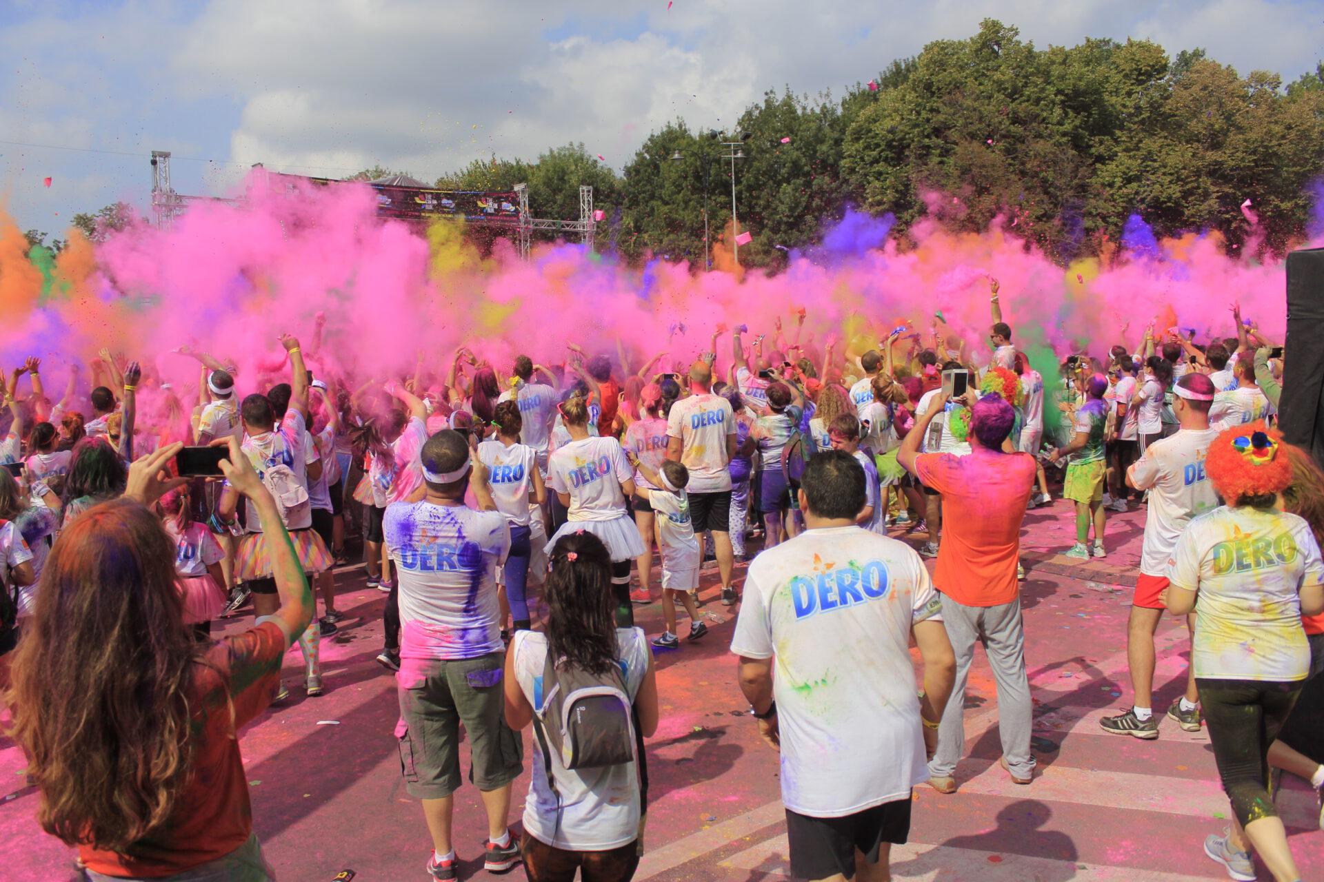 The Color Run la Bucuresti