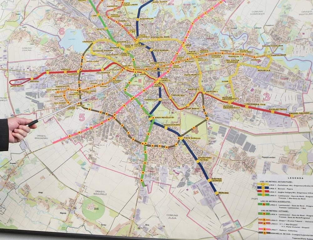 Incredibilele planuri de la Metrou: Crangasi – Piata Sudului, Rahova – Colentina