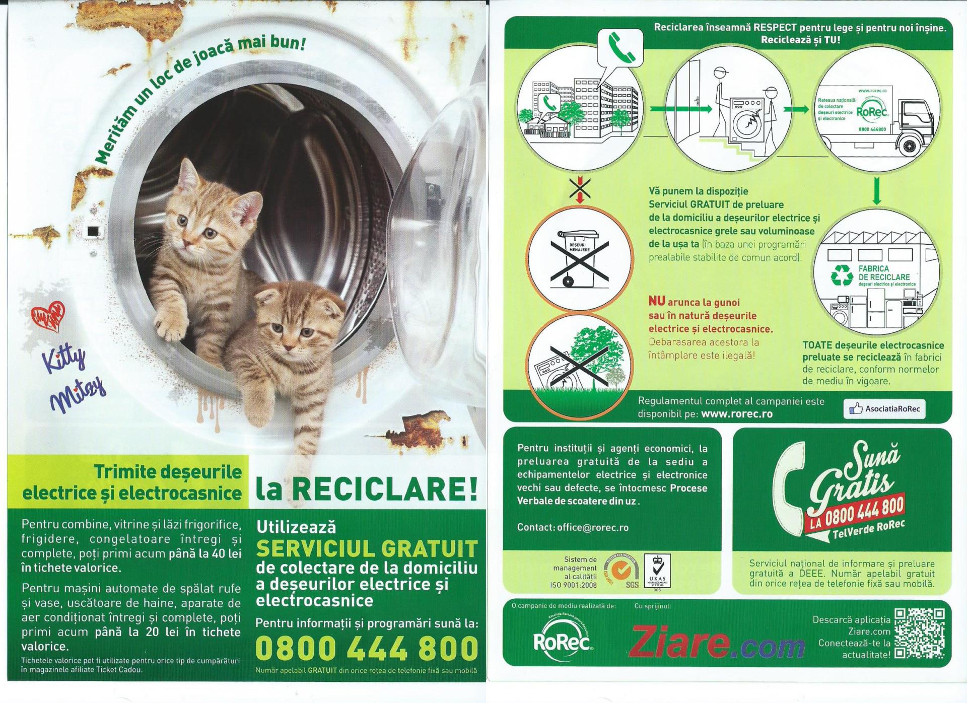 Campanii pentru reciclare