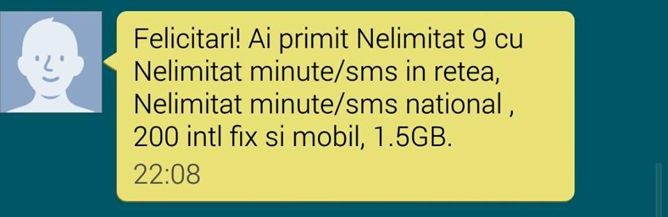 Ai cartela Vodafone? Ai nelimitat cu 9 euro