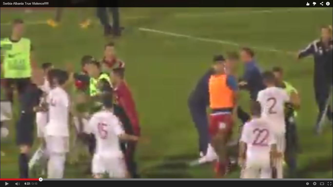Serbia – Albania, asta da meci de fotbal