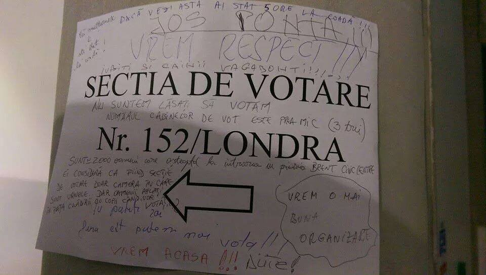 Victor Ponta, Londra te saluta!