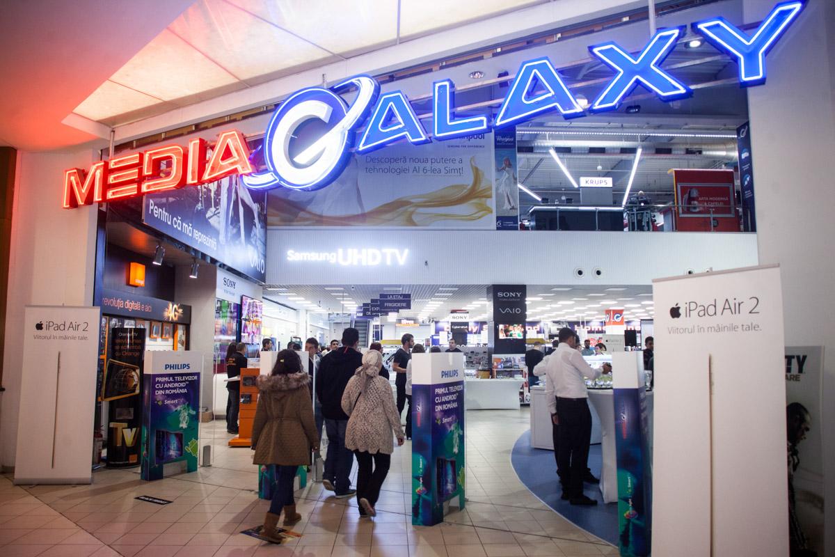 Media Galaxy din Baneasa s-a relansat