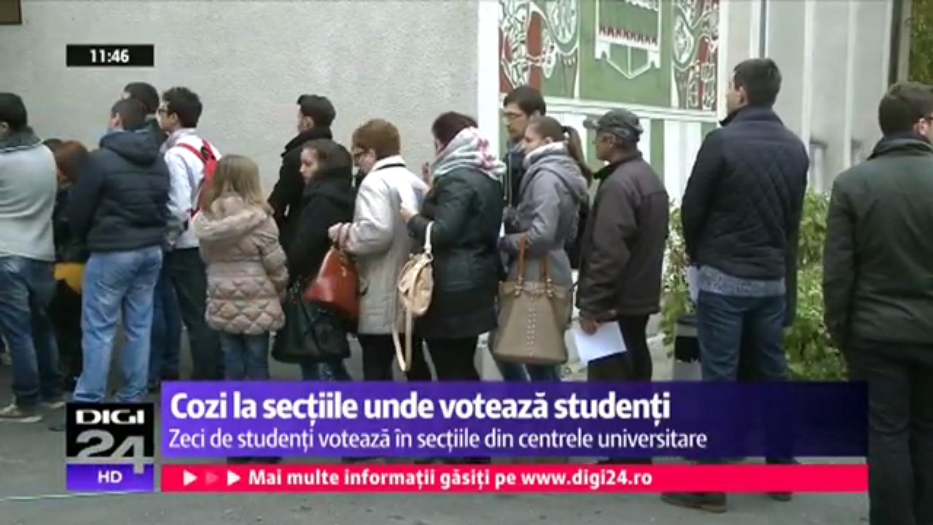 Unde voteaza studentii?