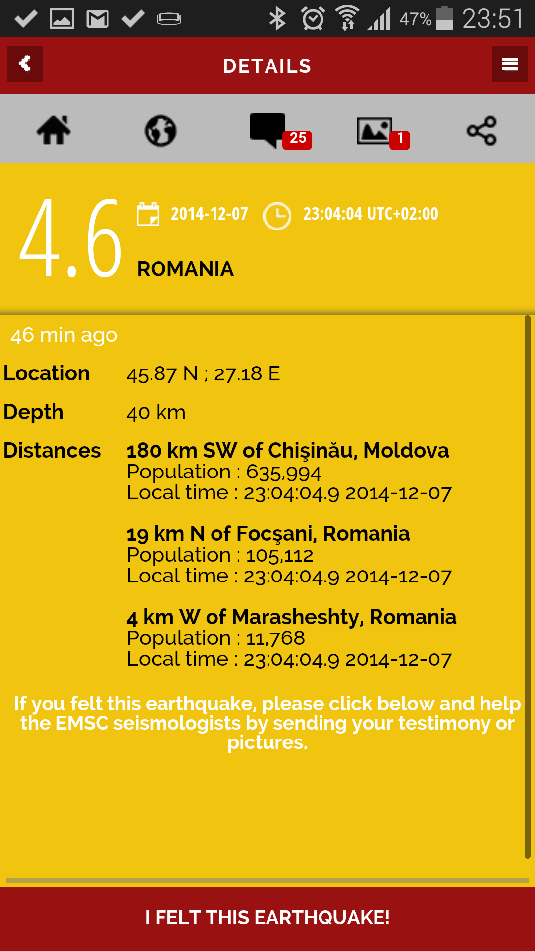 Cutremurele din era internetului
