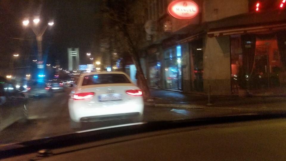 Sex in masina, in trafic, in Bucuresti
