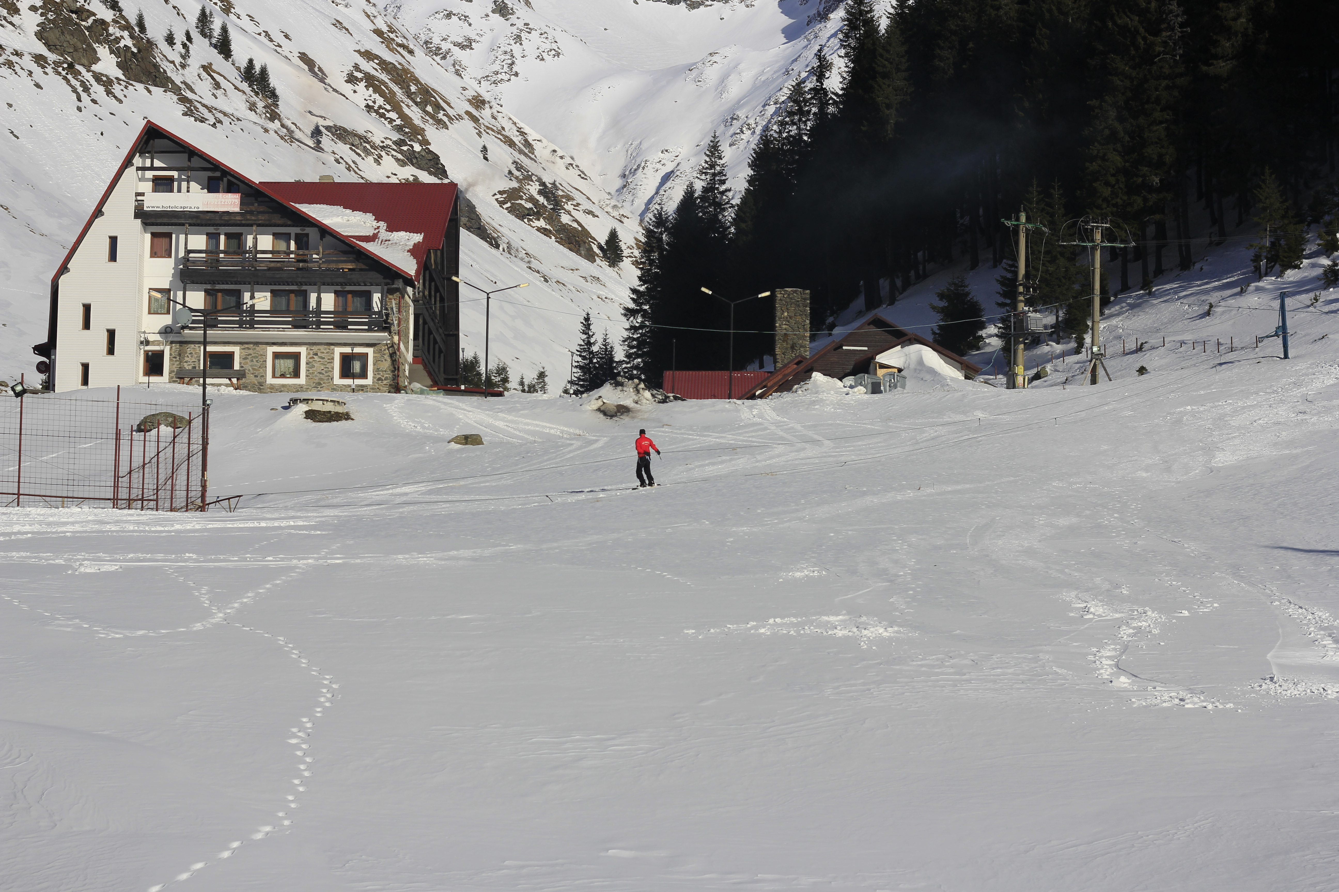 Transfagarasan, iarna