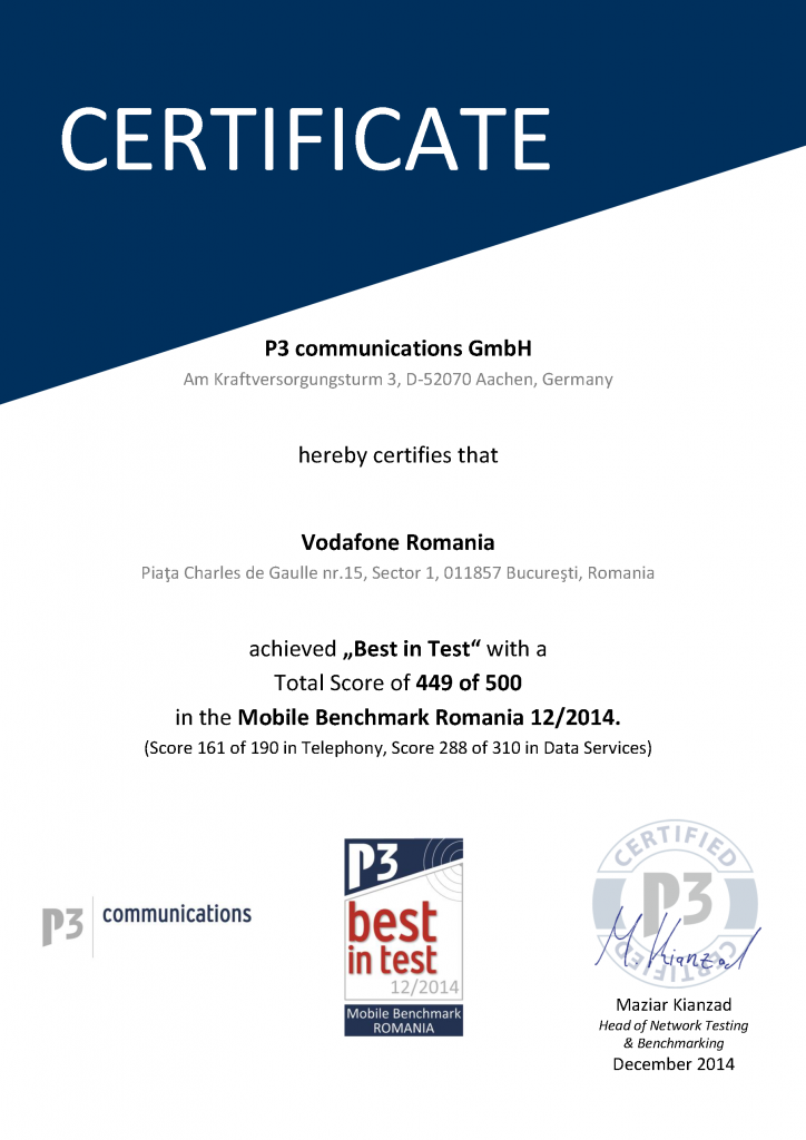 CERTIFICATE_P3_PBM_Romania_VFRO_Best_in_Test_Page_1