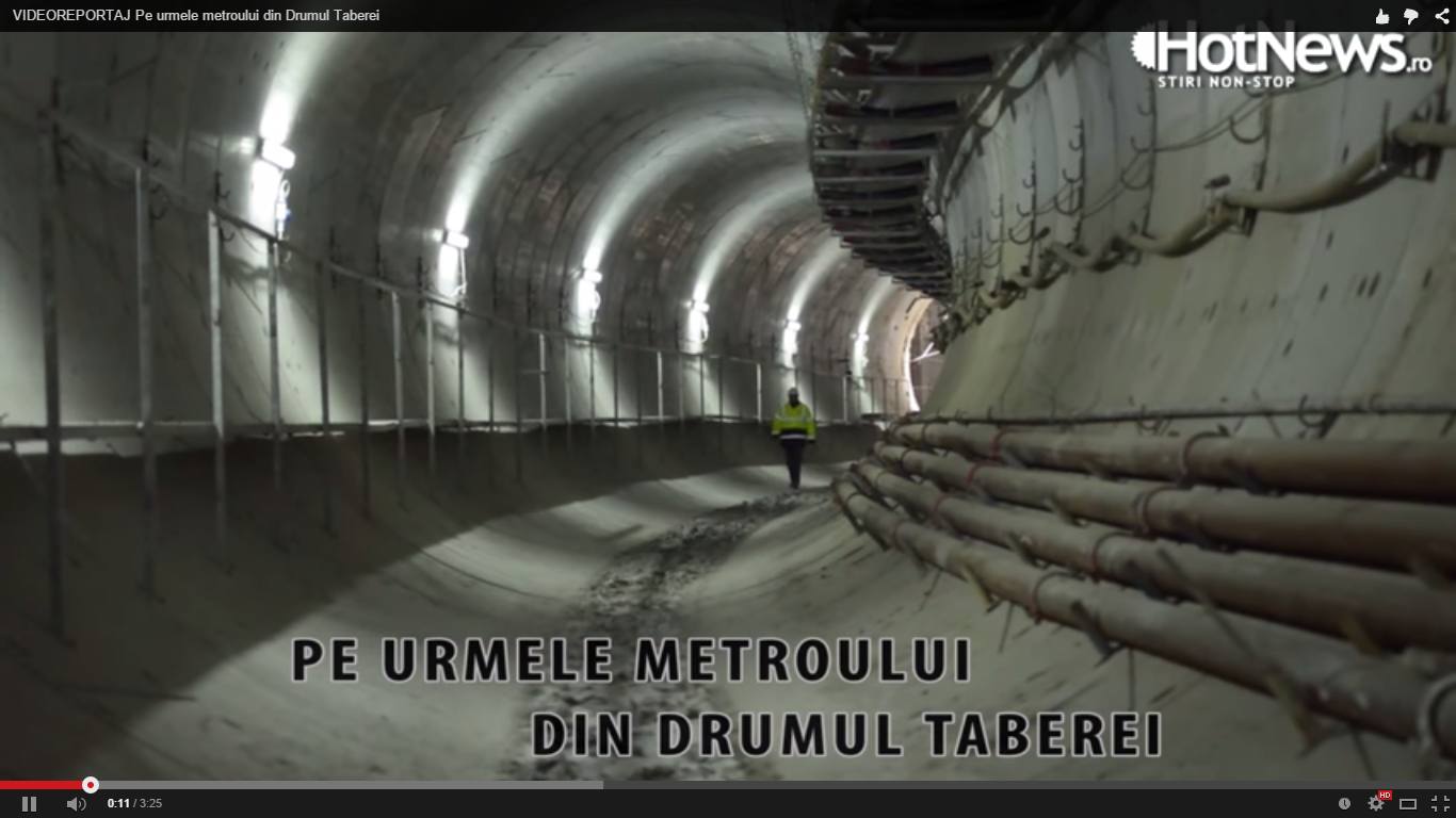 Metroul din Drumul Taberei este gata! Va fi inaugurat in urmatorii 75 de ani