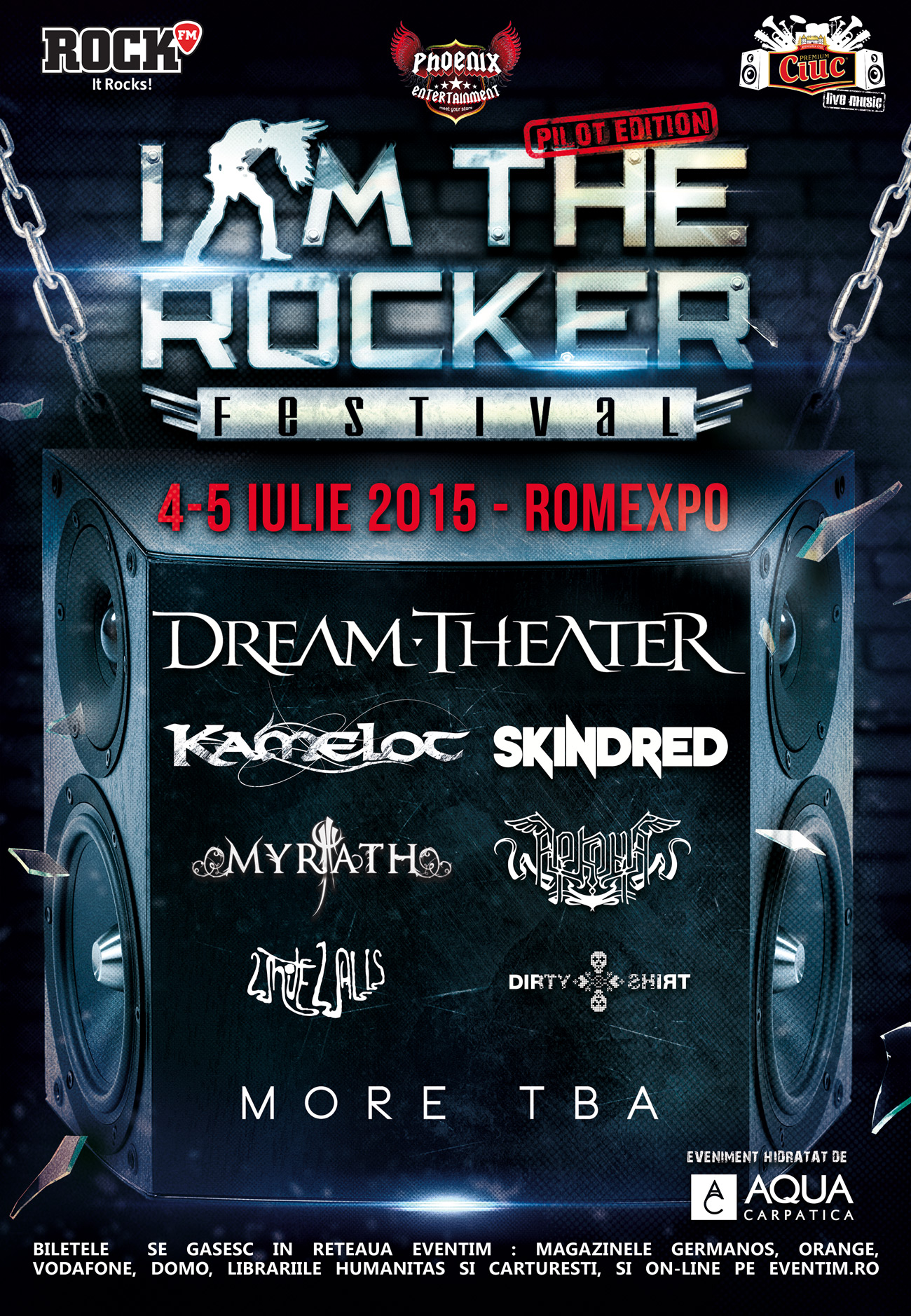 Festivalul de rock, I'am the Rocker la Romexpo