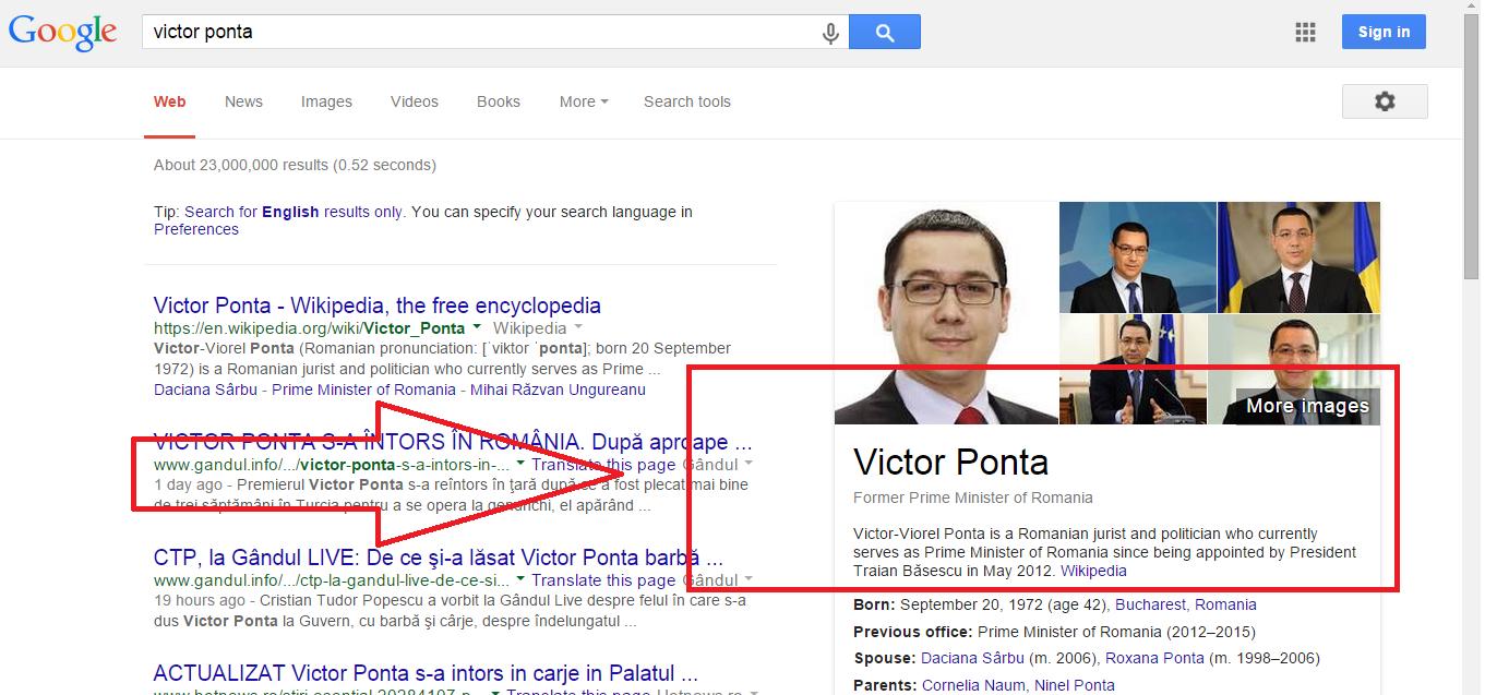 Cine l-a concediat pe Ponta?