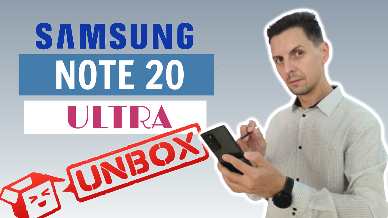 Unboxing Samsung Galaxy Note 20 ULTRA 5G