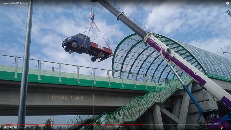 Cum se muncește la linia de cale ferată de la Aeroportul Otopeni