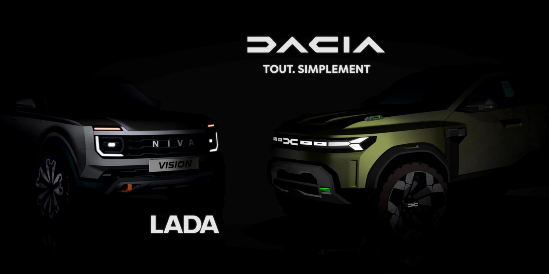 Dacia schimbă logoul, se împrietenește cu rușii de la Lada, va ataca segmentul de mașini clasa C