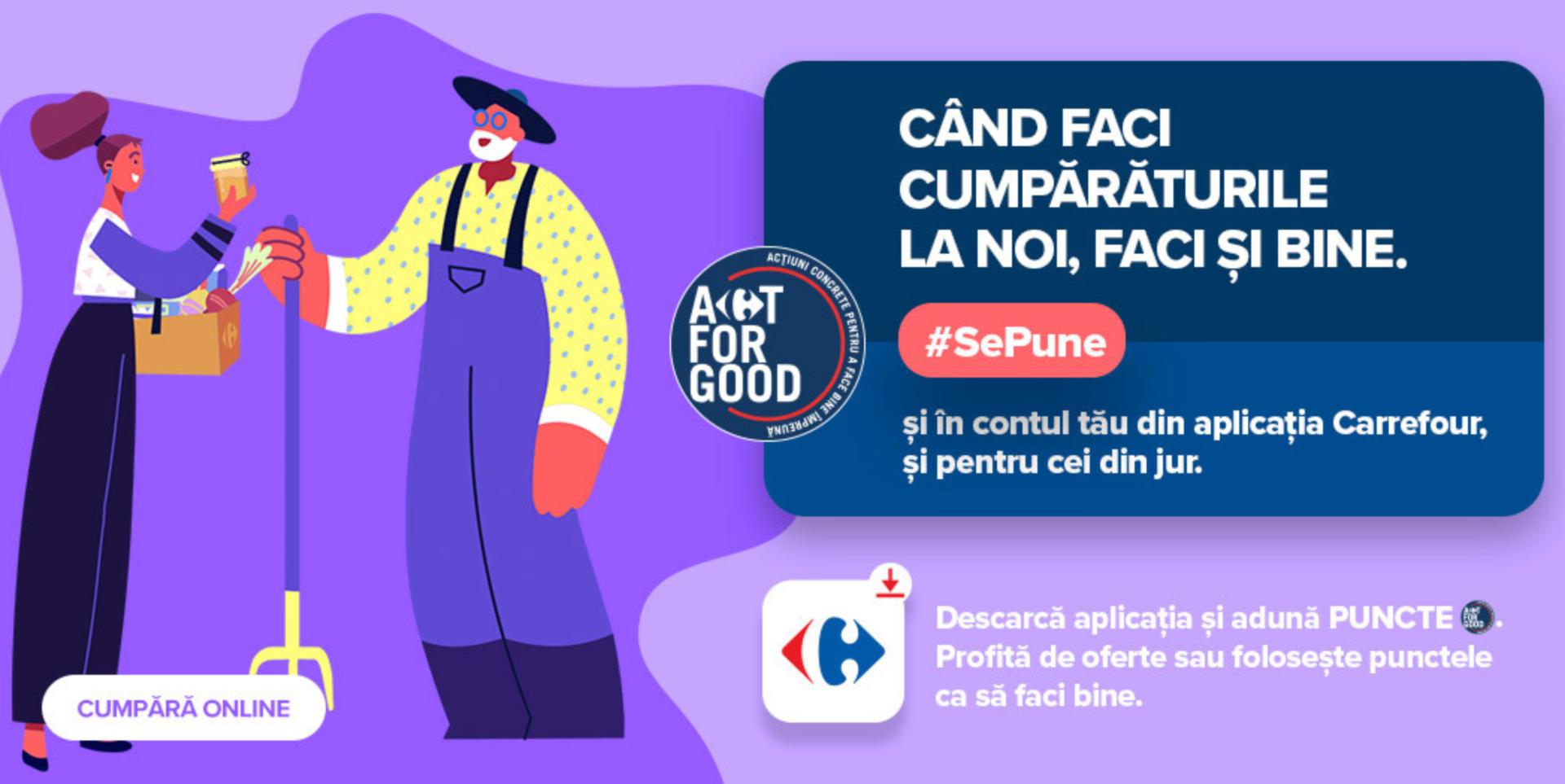 Carrefour România, încetați să mai considerați clienții hoți