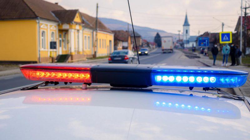 Căruța pe autostrada A1, la Sibiu