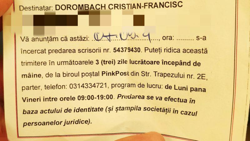 CEC Bank trimite SPAM prin Pink Post